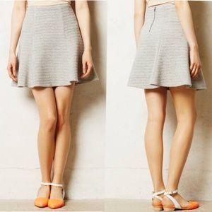 🦝Anthropologie || Maeve Crosstown Swing Skirt